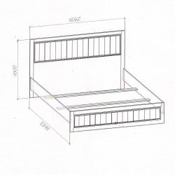"""Кровать (160) """"Милена"""""""