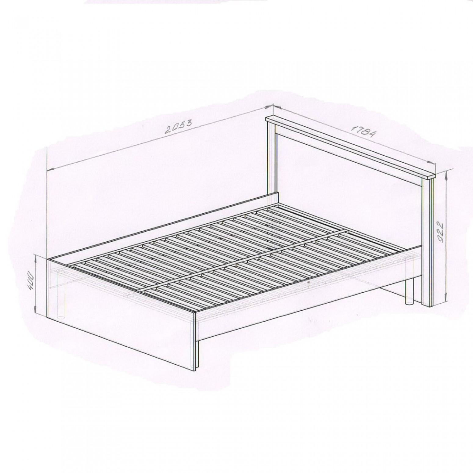 """Кровать """"Натали"""""""