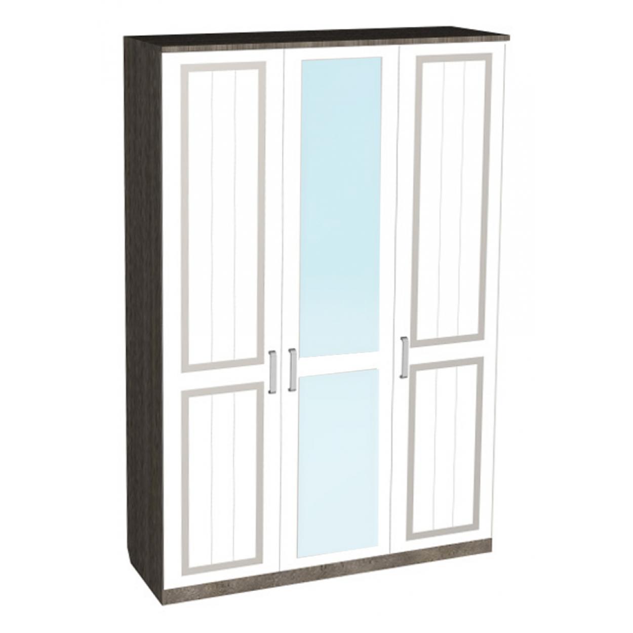 "Шкаф 3-х дверный с зеркалом ""Архимед-2"""