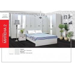 """Спальный гарнитур """"Милена-2"""" - Модульная мебель для спальни"""